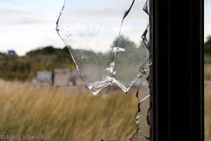 A broken window for What We've Got Here is failure to communicate