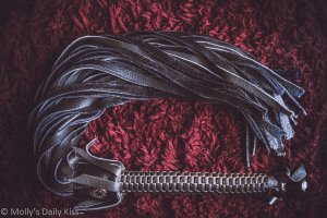 Black Flogger for the Toy Tour