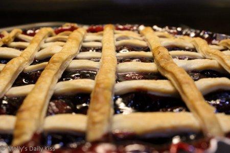 Cherry pie for Mathematics of Love
