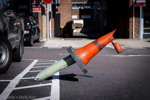Broken Cone for Unconditional Love, stupid