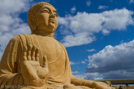 Sand Buddha for A Touch too Much