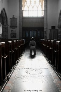 naked in a church for sacred