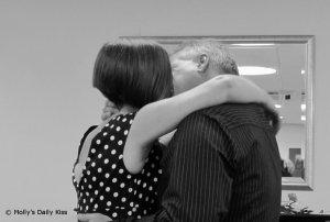 wedding kiss love