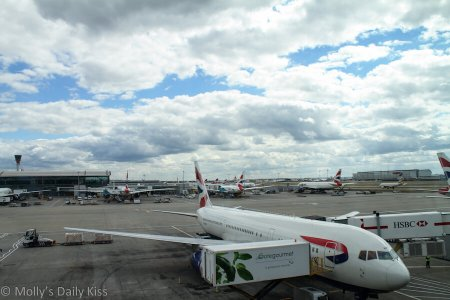 Planes at Heathrow for 88 pounds