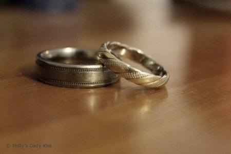 Wedding rings for the crying post