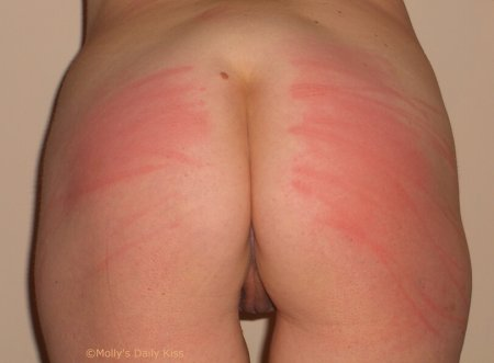 Her whipped bottom for tough enough