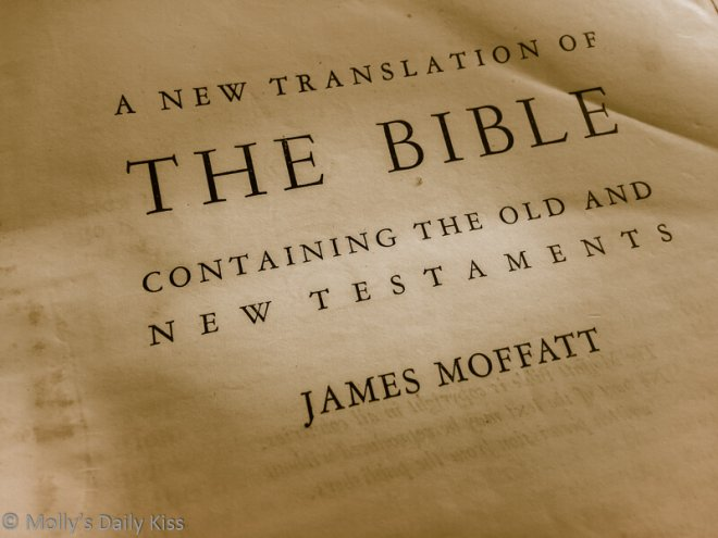 An image of the bible for beliefs