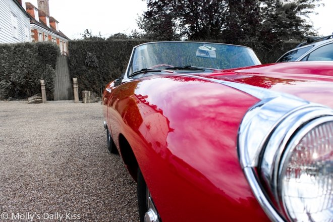 Red jag for Molly is more than a car