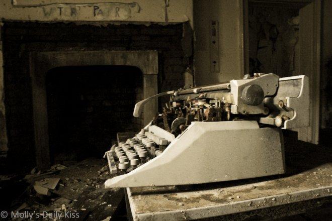 Typewriter inspires