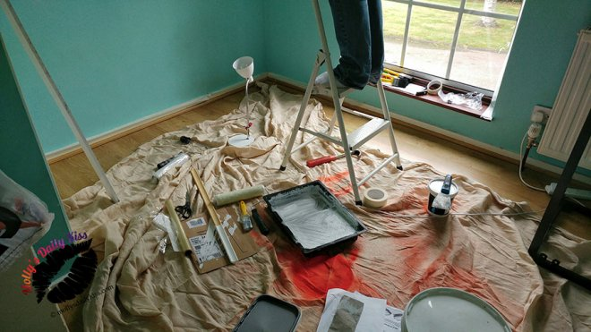 A room under construction