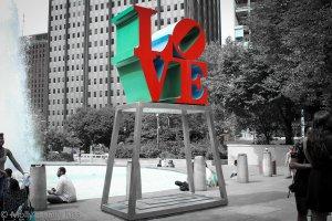 Love Sculpture Philadephia