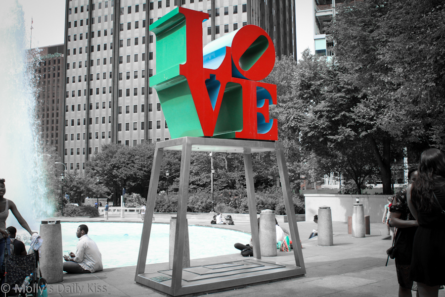 Love Sculpture Philadephia