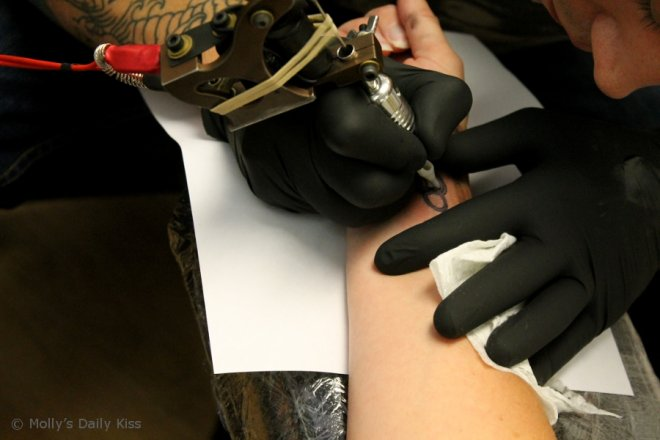 Tattoo image for piercing